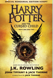 Resolved! the Cursed Child is on its way!!